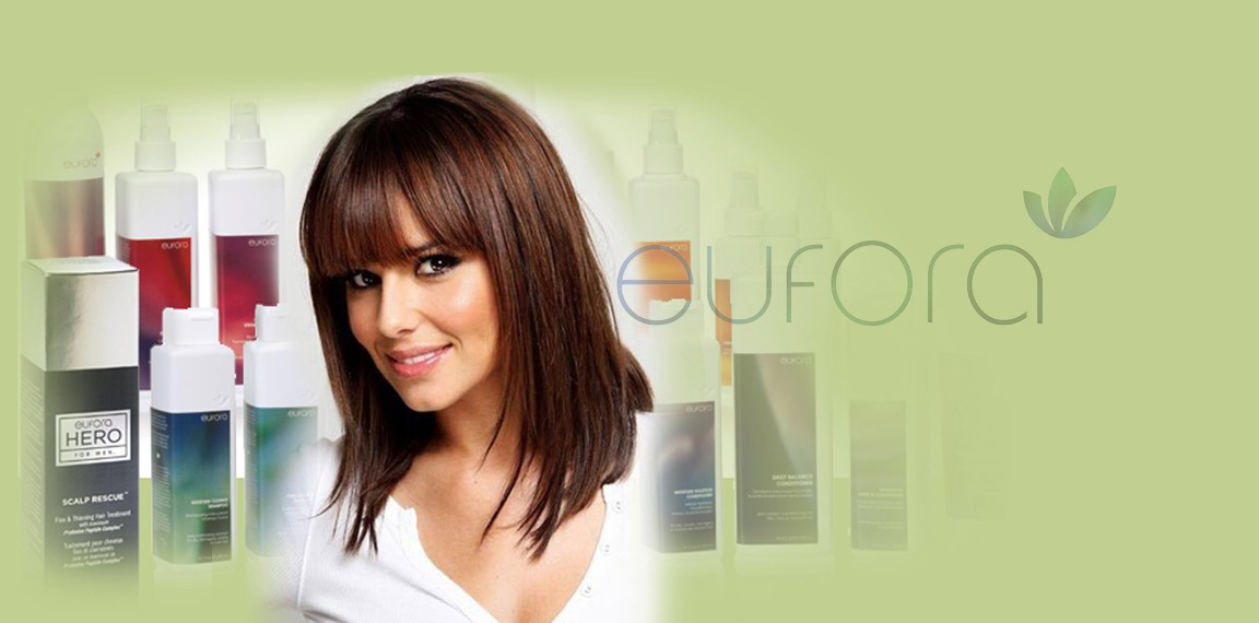 Eufora all natural hair care products
